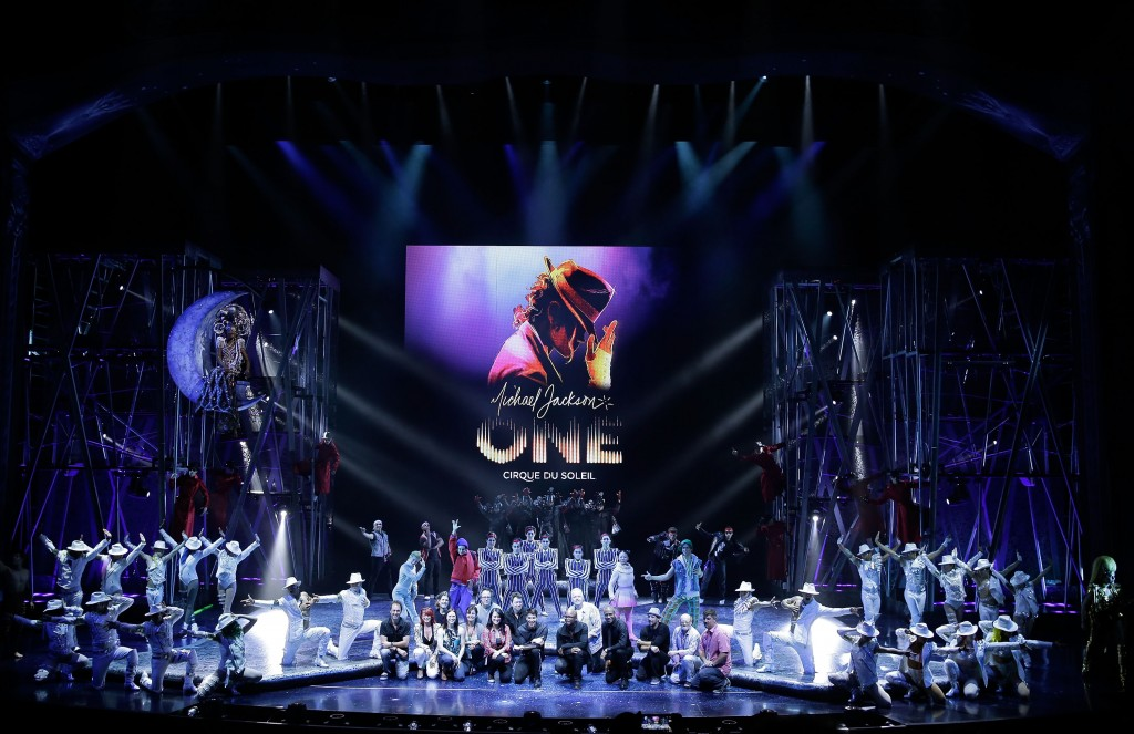 """Michael Jackson ONE"" Sneak Peek"