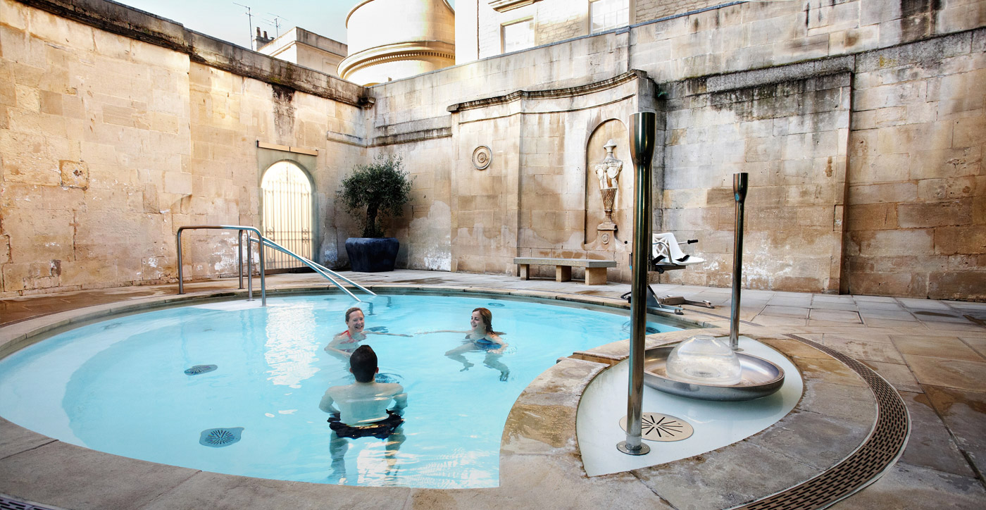 OUT AND ABOUT: Thermae Bath Spa - Milk & Honey